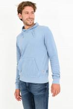 Frottee Sweater in Hellblau
