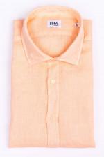 Leinenhemd in Orange