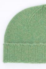 Cashmere Mütze in Grün