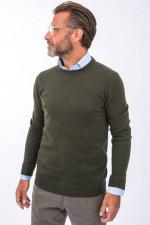 Cashmere Pullover in Oliv