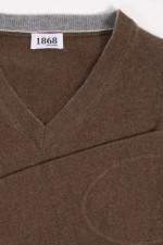 Cashmere Pullover in Braun