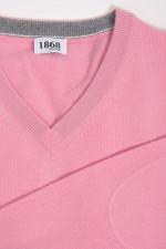 Cashmere Pullover in Rosa
