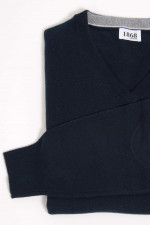 Cashmere Pullover in Navy