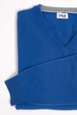 Cashmere Pullover in Königsblau