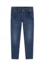 Jeans in Dunkelblau
