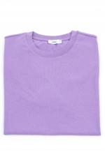 Basic T-Shirt in Flieder