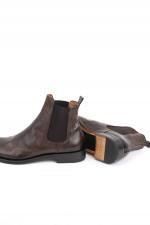 Chelsea Boot in Mahagoni Braun