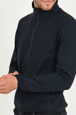 Funktionelle Softshell-Jacke in Navy