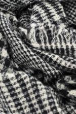 Schal PRINCIPE in Schwarz/Weiß