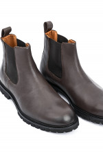 Chelsea Boots in Chocolate