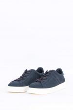 Sneaker H365 aus Nubukleder in Navy