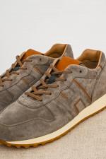 Sneaker H383 aus Wildleder in Grau