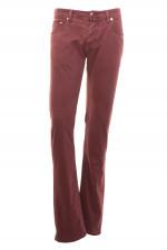 Jeans in 5-Pocket-Style in Bordeaux
