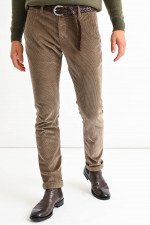 Cord Hose BOBBY in Taupe