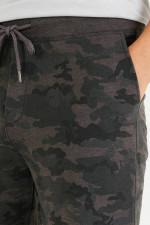 Jersey-Bermudashorts im Camouflage-Design