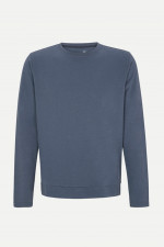 Sportiver Sweater in Blaugrau