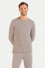 Cashmix Sweater in Taupe