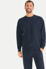 Oversized Sweatshirt in Navy