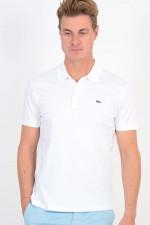 Jersey Poloshirt in Weiß