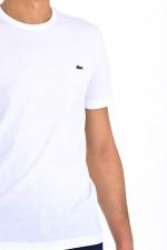 T-Shirt mit Logo in Weiß