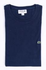 T-Shirt mit Logo in Navy