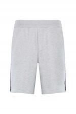 Jersey-Shorts in Grau meliert
