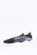 Sneaker ANAKIN mit Schriftzug in Schwarz