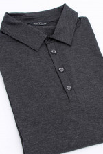 Polo-Shirt in Anthrazit