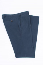 Baumwollhose in Navy