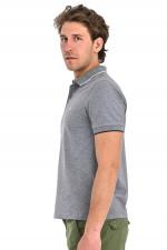 Klassisches Poloshirt in Grau