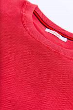 Strukturierter Pullover in Rot