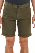 Basic Bermuda Shorts in Braun