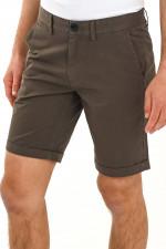 Basic Bermuda Shorts in Khaki