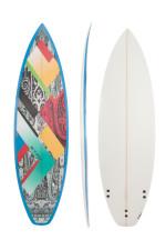 Surfboard BLASTER Shortboard gemustert