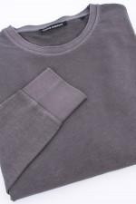 Baumwoll-Sweater in Oliv