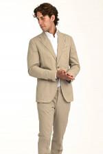 Shaped-Fit Anzug SOLARO SINO in Beige