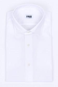 Hemd aus Baumwoll-Mix in Weiß