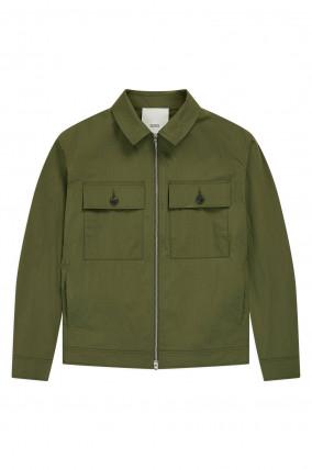 Leichte Jacke in Khaki