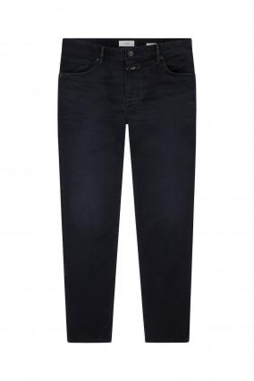 Cropped Jeans in Schwarzblau