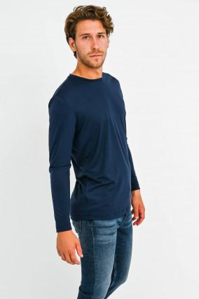 Leichter Sweater in Navy