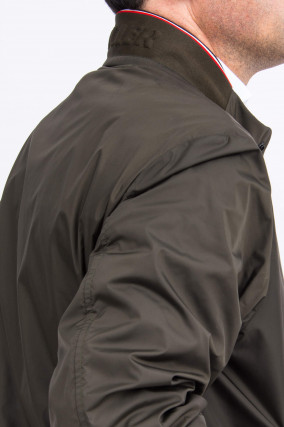 College Jacke REPPE in Oliv