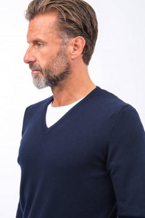 Leichter Pullover in Navy