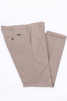 Hose LENNY in Taupe