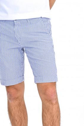 Shorts SERGENTBE in Weiß/Hellblau