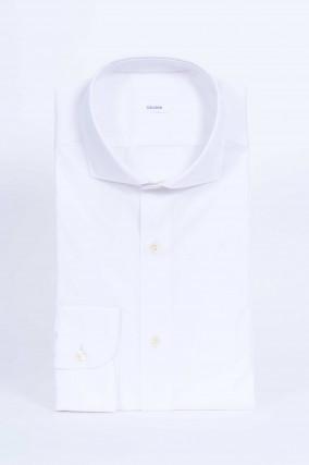 Baumwollhemd in Weiß