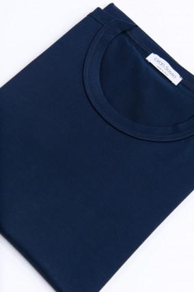 Jersey Kurzarm-Shirt in Midnight