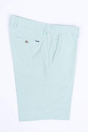 Gestreifte Shorts in Mintgrün