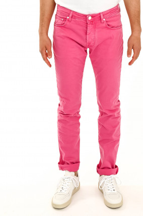 Baumwollhose in Pink