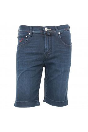 Jeansshort in Dunkelblau