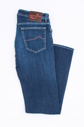 Jeans COMFORT FIT in Mittelblau
